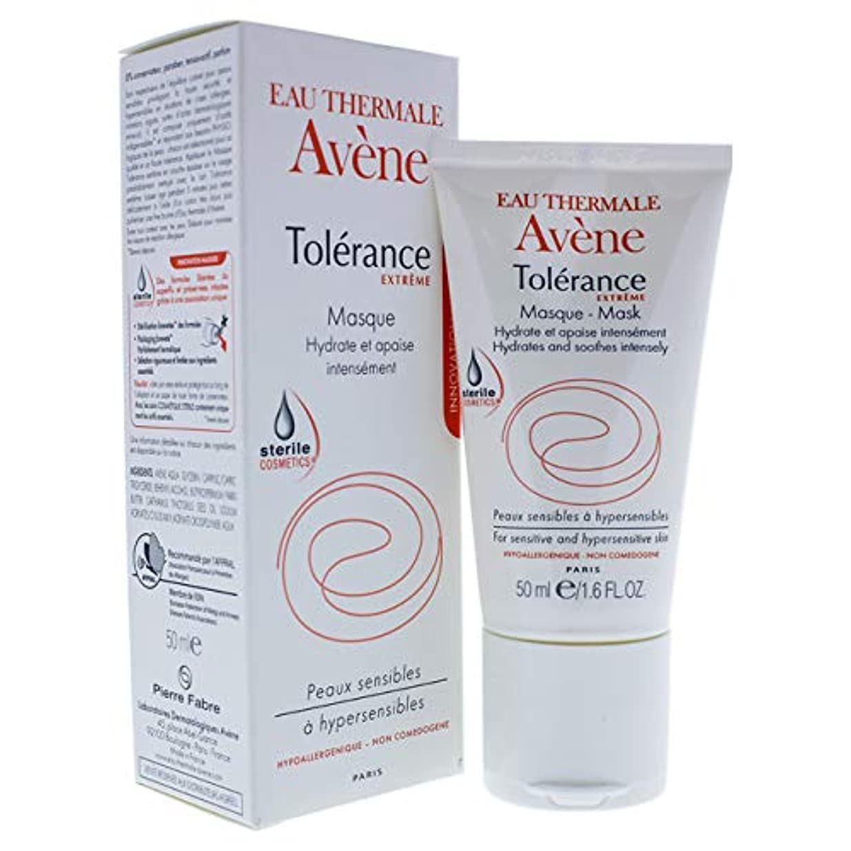 支配的空中スリッパアベンヌ Tolerance Extreme Mask - For Sensitive & Hypersensitive Skin 50ml/1.6oz並行輸入品