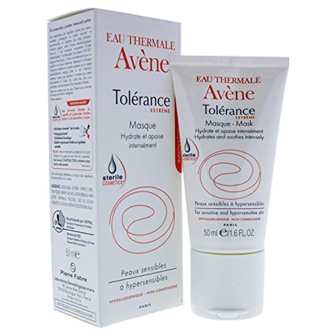 うねる雇うドラムアベンヌ Tolerance Extreme Mask - For Sensitive & Hypersensitive Skin 50ml/1.6oz並行輸入品