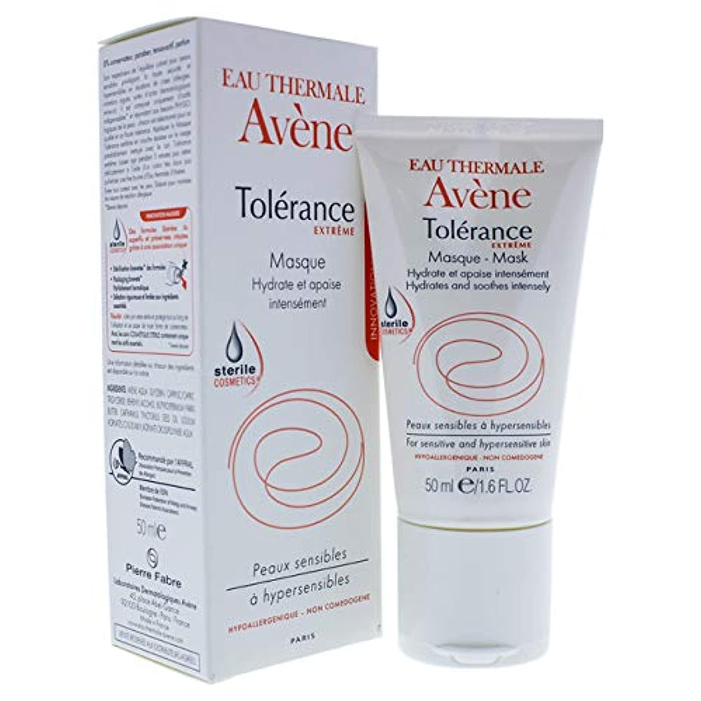 沿ってコントラスト博覧会アベンヌ Tolerance Extreme Mask - For Sensitive & Hypersensitive Skin 50ml/1.6oz並行輸入品