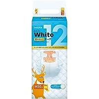 【Amazon.co.jp限定】 ネピア Whito テープ Mサイズ(6~11Kg) 12時間タイプ 50枚