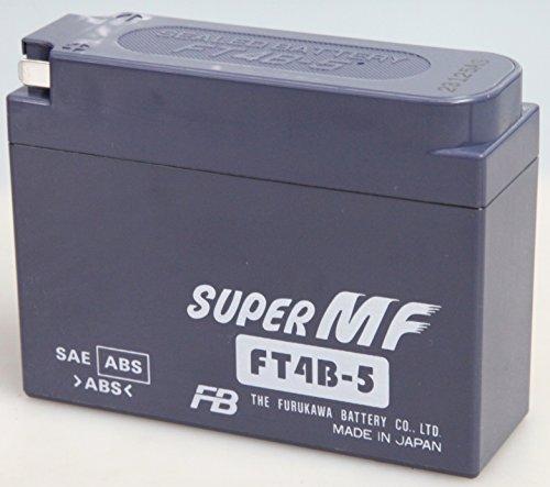 FURUKAWA [ 古河電池 ] シールド型 バイク用バッテリー [ 液入充電済 ] FT4B-5
