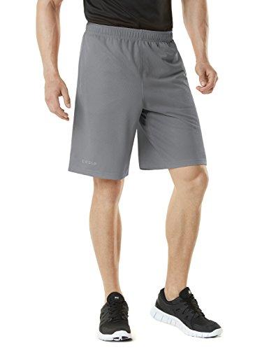 (テスラ)TESLA メンズ HyperDri メッシュ ランニング ショーツ [UVカット・吸汗速乾] ドライフィット フィットネス パンツ MBS02