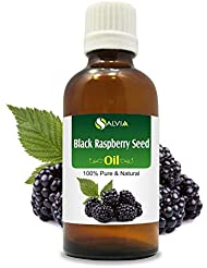 Black Raspberry Seed Oil (Rubus occidentalis) 100% Natural Pure Undiluted Uncut Carrier Oil 100ml
