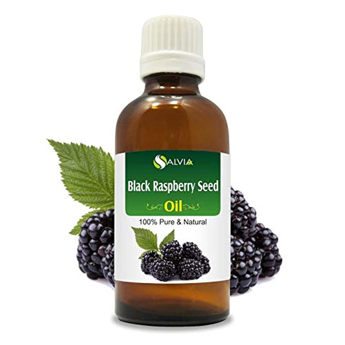 謙虚な旅客習字Black Raspberry Seed Oil (Rubus occidentalis) 100% Natural Pure Undiluted Uncut Carrier Oil 50ml