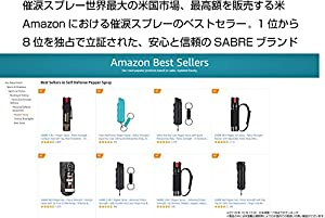 【正規輸入品】SABRE セイバー 小型防犯催涙スプレー(ピンク) 16.2ml【安心の日本語表記】