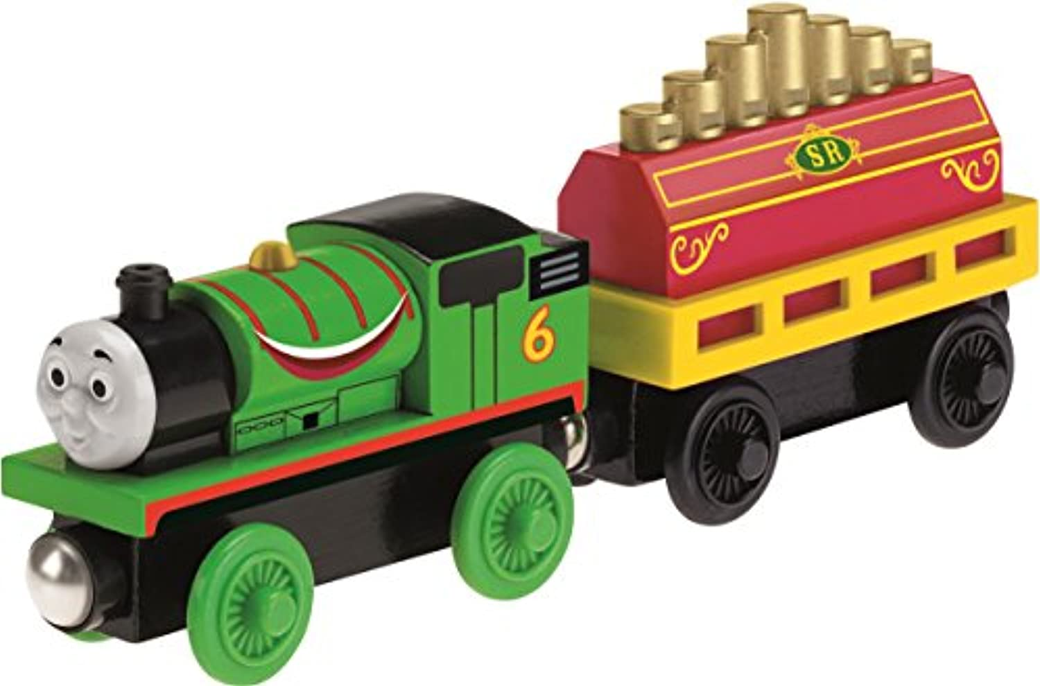 Thomas & Friends Wooden Railway: Percy's Musical Ride