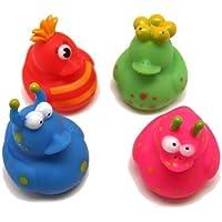 12 Vinyl Monster Rubber Duckies by Fun Express [並行輸入品]