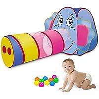 子供用テント セット トンネル ボールハウス 折り畳み式 キッズテント ボールプール おもちゃ 女の子 男の子 お誕生日 出産祝いのプレゼント キッズプレイハウス