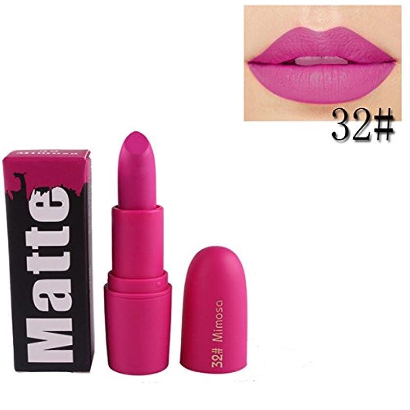 より平らな技術者手女性口紅 BOBOGOJP 欧米風 ミストマット リップグロス 18色選択 保湿 持続性 魅力的 リップリップスティック モイスチャライジング リップスティックメイク 恋する唇 おすすめリップスティック (B)