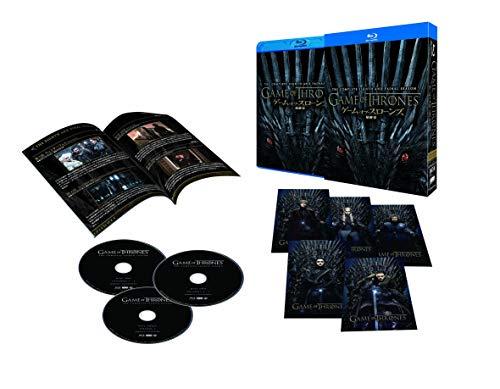 ゲームオブスローンズ  最終章 コンプリート・ボックス (初回限定版) [Blu-ray]