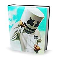 Yinian マシュメロ Marshmello ブックカバー 文庫 皮革 レザー おしゃれ 新書 かわいい 本カバー おもしろい 文庫本カバー ファイル 資料 収納入れ オフィス用品 読書 雑貨 プレゼント
