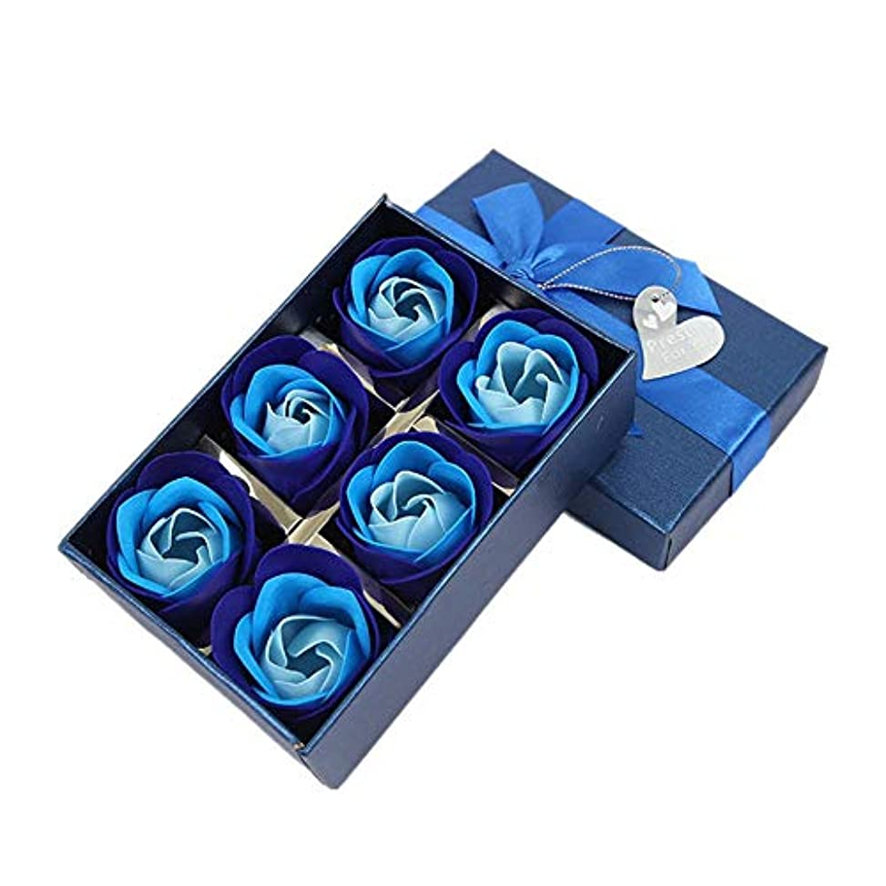 ボンドいま一元化する造花 バラ 石鹸 花 ソープフラワー バラ 石鹸 風呂 バラ風呂 入浴剤 香り付き ボックス付 誕生日 クリスマス 新年 記念日などのプレゼント