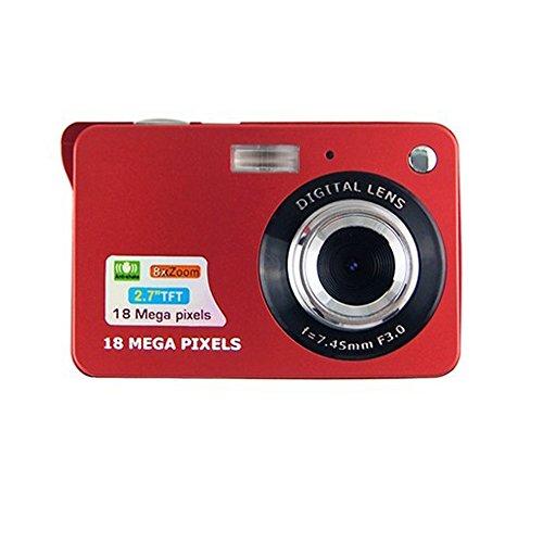 IFLYING ミニデジタルカメラ 2.7インチTFT LCD HD デジタルカメラ 防振 赤目軽減...