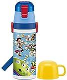 スケーター 超軽量 2WAY ステンレスボトル 水筒 コップ付き 470ml 保温 保冷 トイストーリー 16 ディズニー SKDC4