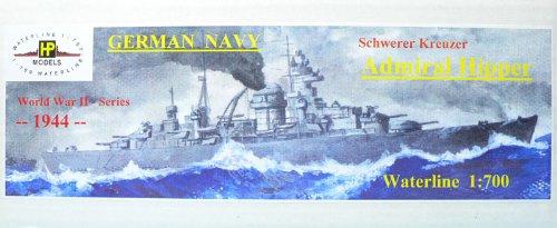 1/700 独海軍重巡 アドミラル・ヒッパー 1944