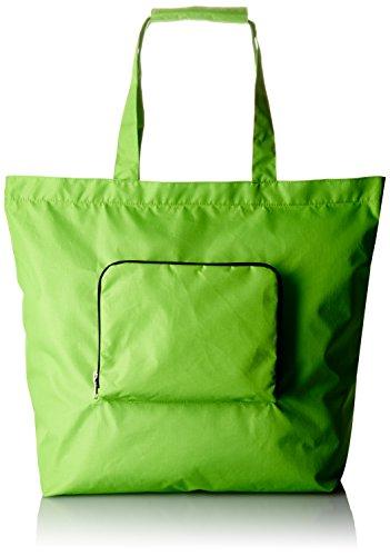 [ノーマディック] トートバッグ 折りたたみトートバッグLサイズ 黄緑