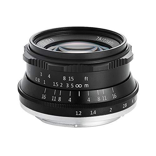 七工匠 7Artisans 単焦点レンズ 35mm F1.2 国内正規品 (フジフイルムXマウント, ブラック) 3512FXB
