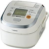 象印 炊飯器 圧力IH式 極め羽釜 5.5合 プライムホワイト NP-WB10-WZ