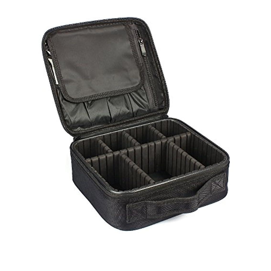 メロディアス実行可能穏やかなMIRAISZ プロ用 メイクボックス 高品質 多機能 多容量 メイクブラシバッグ 収納ケース スーツケース?トラベルバッグ 化粧バッグ メイクブラシ 化粧道具 小物入れ (MINI)