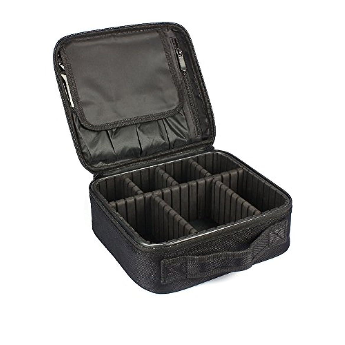 見ましたライオンローズMIRAISZ プロ用 メイクボックス 高品質 多機能 多容量 メイクブラシバッグ 収納ケース スーツケース?トラベルバッグ 化粧バッグ メイクブラシ 化粧道具 小物入れ (MINI)