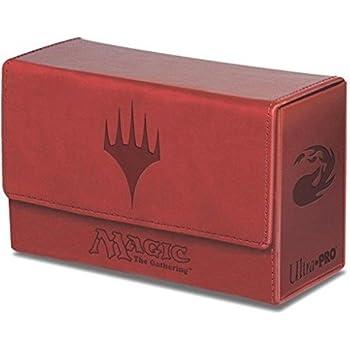 つや消し新革風デュアルデッキボックス マナ レッド マジック・ザ・ギャザリング公式サプライ/MTG