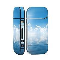 スマコレ IQOS 2.4 Plus 専用 シール 全面 ケース おしゃれ 全面ケース 保護 ステッカー デコ アクセサリー デザイン その他 海 空 雲 000935