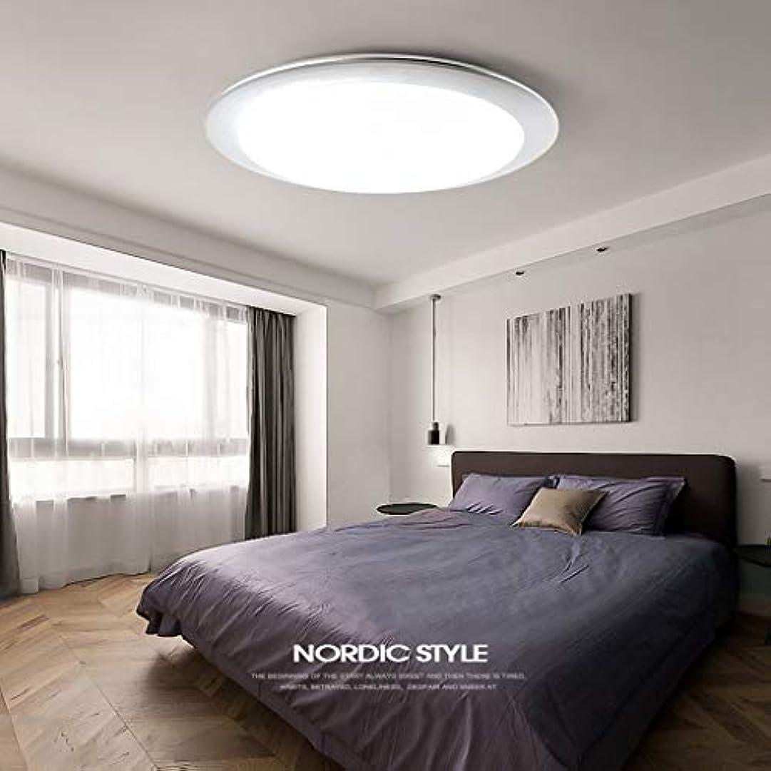 ファブリックかりて保安超薄型LEDフラッシュマウントシーリングライト、16インチ18W無段階調光キッチン照明廊下階段吹き抜け用ガレージ (Color : B, Size : 41cm/18w)