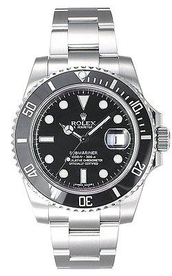 [ロレックス] ROLEX 腕時計 サブマリーナデイト 116610LN ブラック メンズ [並行輸入品]