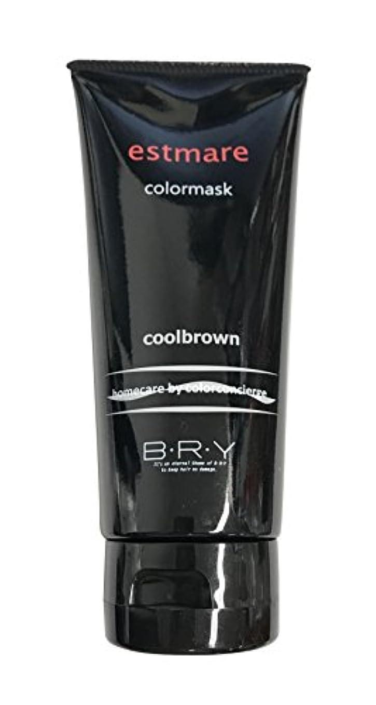 わかりやすい細心のダブルBRY(ブライ) エストマーレ カラーマスク Coolbrown クールブラウン 200g