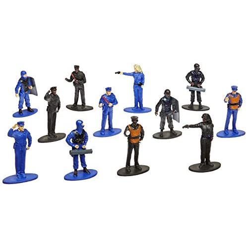 US Toy(ユーエス トイ) ポリス フィギュア 12体入 [並行輸入品]