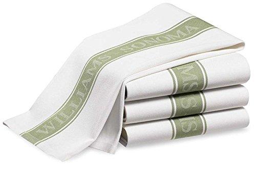RoomClip商品情報 - ウイリアムズソノマ Williams Sonoma キッチンタオル ラージサイズ 4枚セット (ライトグリーン) [並行輸入品]
