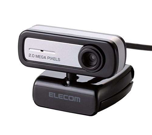 エレコム WEBカメラ 200万画素 マイク内蔵 MAC対応 ...