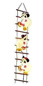 タカショー ディズニー ブローライト はしご ミッキーマウス S 3P