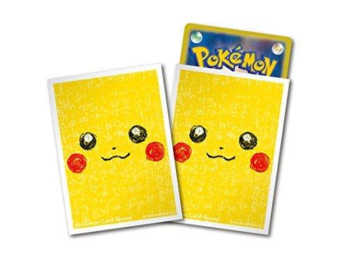 ポケモンカードゲーム デッキシールド ピカチュウ フェイス 64枚入り