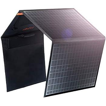 アイパー(Aiper) ソーラーチャージャー 10種DCプラグ 自立式スタンド付 (100W)