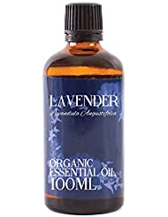 Mystic Moments | Lavender Organic Essential Oil - 100ml - 100% Pure