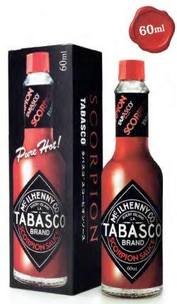 タバスコ スコーピオンソース 瓶 60ml