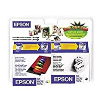 EPSON S189108-BCD Consolidated Ink Cartridge -- Black / Color Combo Pack by Epson [並行輸入品]