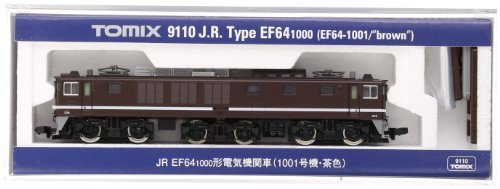 TOMIX Nゲージ9110 ef64 – 1000 ( 1001 unit-brown )