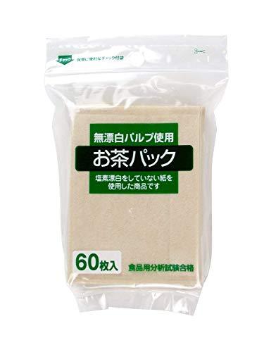 ゼンミ お茶パック 無漂白パルプ使用 60枚入