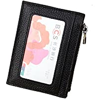 keychain card case Credit Card Holder for Men mens front pocket wallet