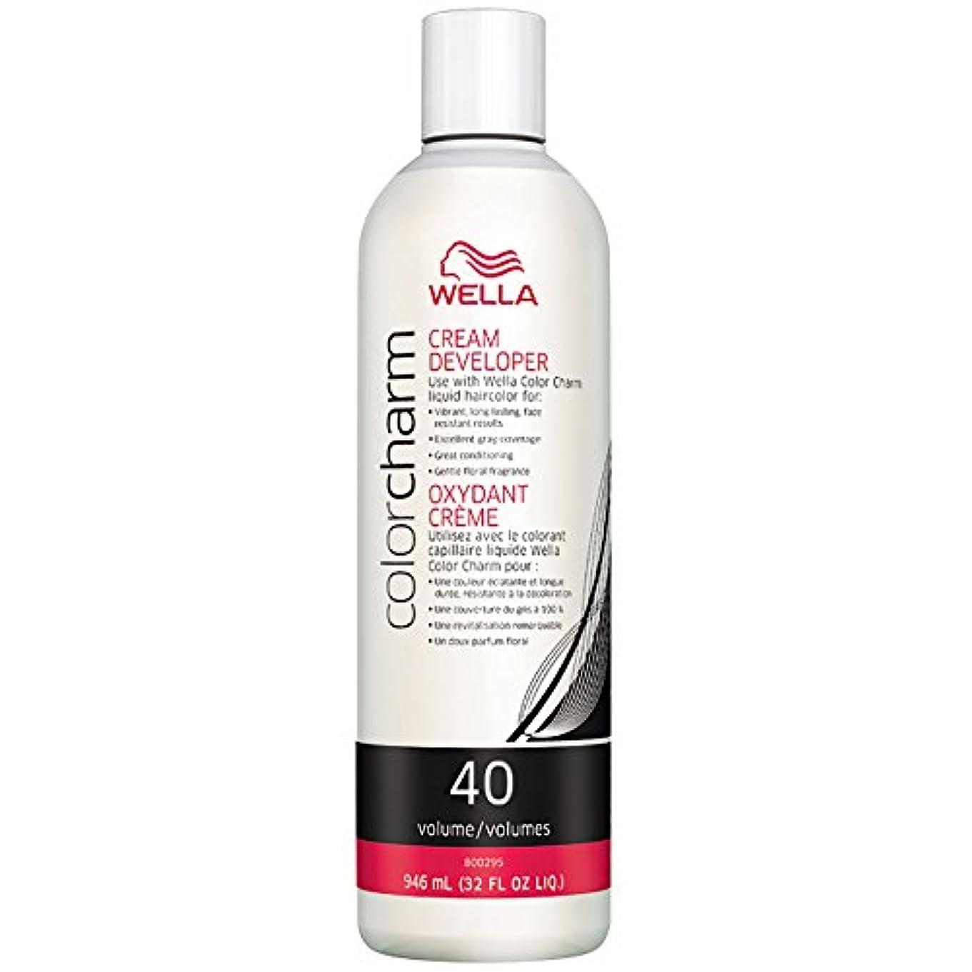 早くリーチかごWella CC Creme 40 Volume 945 ml Developer (並行輸入品)