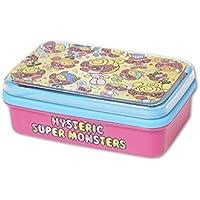 (ヒステリックミニ) Hysteric Mini SUPER POP MONSTER総柄 ランチボックス