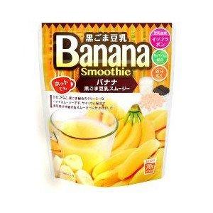 ユニマットリケン 黒ごま豆乳バナナスムージー 70g...