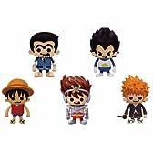 週間少年ジャンプ40周年 ソフビフィギュア4インブリスター 全5種セット