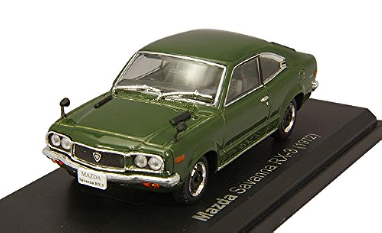 Norev 1/43 マツダ サバンナ RX-3 1972 ダークグリーン 完成品