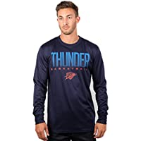 UNK NBA Men's T-Shirt Athletic Quick Dry Long Sleeve Tee Shirt, Team Color
