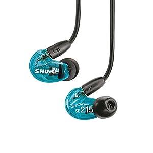 SHURE イヤホン SEシリーズ SE215 カナル型 高遮音性 Special Edition トランススルーセントブルー SE215SPE-A 【国内正規品】