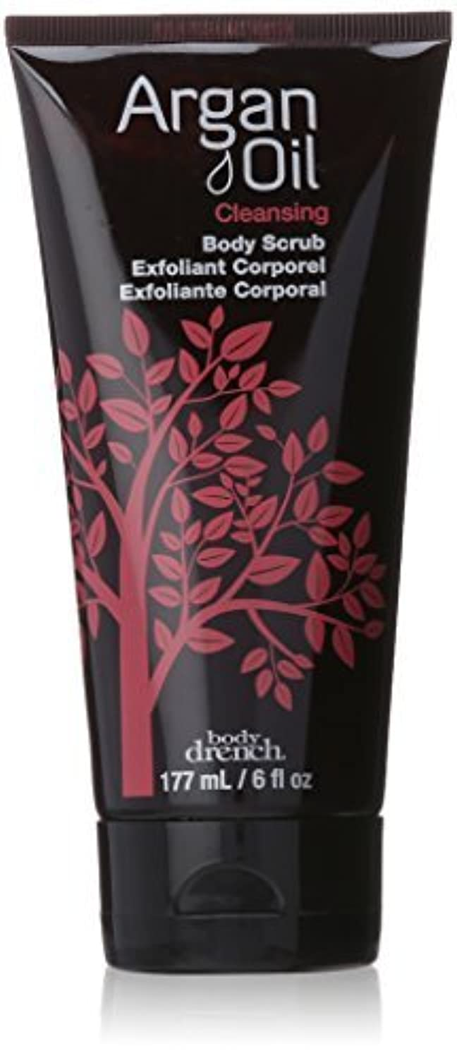 Body Drench Argan Oil Collection Cleansing Body Scrub, 6 Ounce by Body Drench [並行輸入品]
