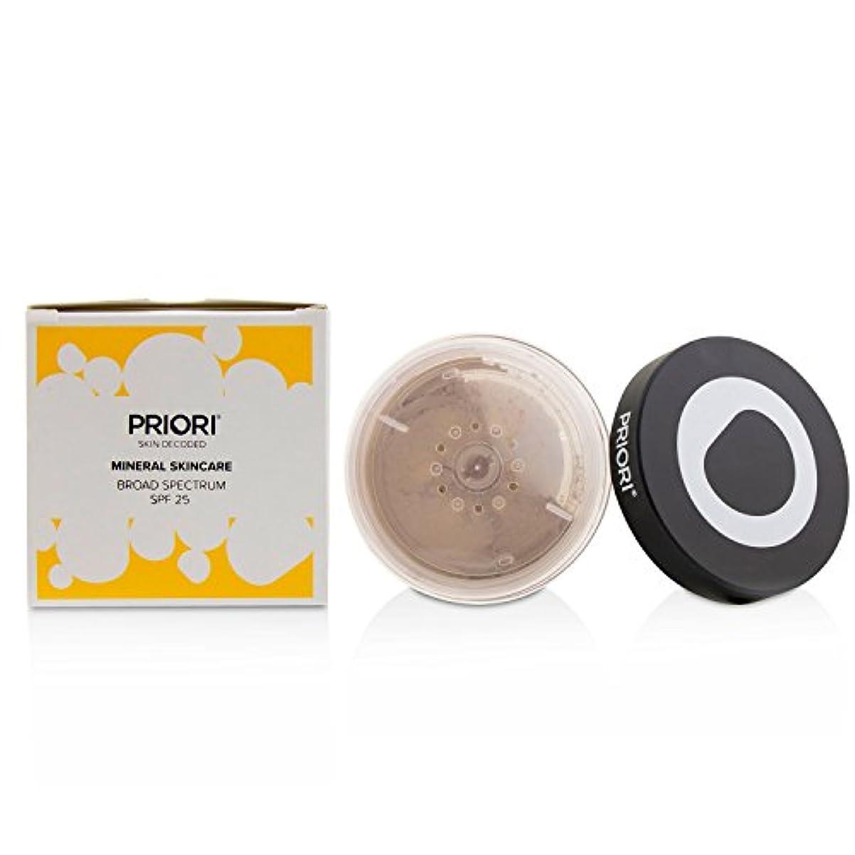 暗い樹皮ふけるプリオリ Mineral Skincare Broad Spectrum SPF25 - # Shade 4 (Fx354) 5g/0.17oz並行輸入品